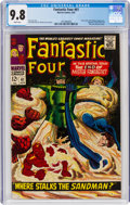 Silver Age (1956-1969):Superhero, Fantastic Four #61 (Marvel, 1967) CGC NM/MT 9.8 White pages....