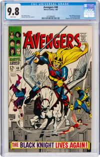 The Avengers #48 (Marvel, 1968) CGC NM/MT 9.8 White pages