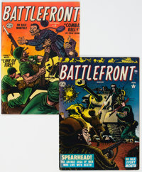Battlefront #3 and 6 Group (Atlas, 1952) Condition: Average VG-.... (Total: 2 Comic Books)