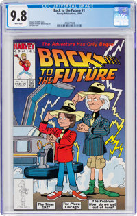 Back to the Future #1 (Harvey, 1991) CGC NM/MT 9.8 White pages