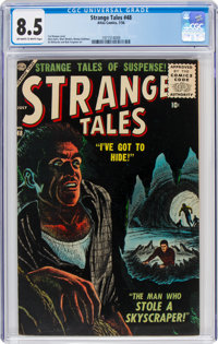 Strange Tales #48 (Atlas, 1956) CGC VF+ 8.5 Off-white to white pages