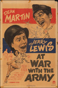 """Movie Posters:Comedy, At War with the Army (Paramount, 1951). Folded, Very Good. One Sheet (27"""" X 41""""). Comedy.. ..."""