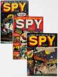 Golden Age (1938-1955):Crime, Atlas/Quality Golden Crime/Spy Comics Group of 8 (Atlas/Quality, 1950s) Condition: Average VG.... (Total: 8 Comic Books)