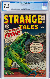 Strange Tales #89 (Marvel, 1961) CGC VF- 7.5 Off-white to white pages