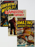 Golden Age (1938-1955):Miscellaneous, Atlas Silver Age Science Fiction Comics Group of 12 (Atlas, 1950s-60s) Condition: Average GD.... (Total: 12 Comic Books)