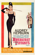 Movie Posters:Romance, Breakfast at Tiffany's (Paramount, 1961). Fine+ on Linen.