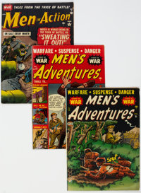 Atlas Golden Age War Comics Group of 14 (Atlas, 1950s) Condition: Average GD/VG.... (Total: 14 Comic Books)