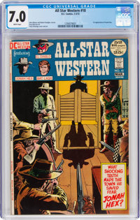 All-Star Western #10 (DC, 1972) CGC FN/VF 7.0 White pages