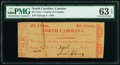 Obsoletes By State:North Carolina, Camden C.H., NC- County of Camden 25¢ Nov. 2, 1861 PMG Choice Uncirculated 63 EPQ.. ...