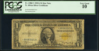 Fr. 2306* $1 1935A North Africa Silver Certificate. PCGS Very Good 10