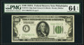 Fr. 2151-C $100 1928A Dark Green Seal Federal Reserve Note. PMG Choice Uncirculated 64 EPQ
