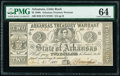 Obsoletes By State:Arkansas, (Little Rock), AR- Arkansas Treasury Warrant $2 July 31, 1863 Cr. 36 PMG Choice Uncirculated 64.. ...