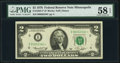 Small Size:Federal Reserve Notes, Low Serial Number 2340 Fr. 1935-I* $2 1976 Federal Reserve Note. PMG Choice About Unc 58 EPQ.. ...