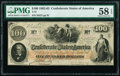 Confederate Notes:1862 Issues, T41 $100 1862 PF-16 Cr. 320 PMG Choice About Unc 58 EPQ.. ...