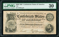 T64 $500 1864 PF-2 Cr. 489 PMG Very Fine 30
