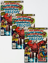 Captain America #208 Group of 25 (Marvel, 1977) Condition: Average VF+.... (Total: 25)