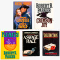 Books:Hardcover, Robert B. Parker Hardback Group of 5 (Various Publishers, 1981-89) Condition: Average FN/VF.... (Total: 5 Items)