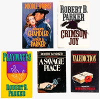 Robert B. Parker Hardback Group of 5 (Various Publishers, 1981-89) Condition: Average FN/VF.... (Total: 5 Items)