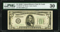 Fr. 1960-H* $5 1934D Federal Reserve Note. PMG Very Fine 30