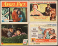 """Movie Posters:Thriller, Above Suspicion & Other Lot (MGM, 1943). Very Fine-. Lobby Cards (2) & Title Lobby Cards (2) (11"""" X 14""""). Thriller.. ... (Total: 4 Items)"""