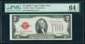 Small Size:Legal Tender Notes, Fr. 1505 $2 1928D Legal Tender Note. PMG Choice Uncirculated 64 EPQ.. ...