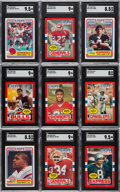 Football Cards:Sets, 1984 and 1985 Topps USFL Complete Sets Pair (2). ... (Total: 2 items)