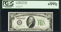 Small Size:Federal Reserve Notes, Fr. 2006-B $10 1934A Federal Reserve Note. PCGS Choice New 63PPQ.. ...