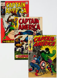 Captain America Group of 20 (Marvel, 1968-72) Condition: Average VF-.... (Total: 20)