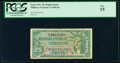 Military Payment Certificates:Series 591, Series 591 25¢ Replacement PCGS Fine 15.. ...