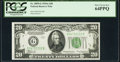 Fr. 2055-G $20 1934A Federal Reserve Note. PCGS Very Choice New 64PPQ