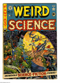 Golden Age (1938-1955):Science Fiction, Weird Science #9 (EC, 1951) Condition: VG. Wally Wood cover, hisfirst for EC. Wood and Jack Kamen art. Overstreet 2004 VG 4...