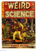 Golden Age (1938-1955):Science Fiction, Weird Science #10 (EC, 1951) Condition: GD. Wally Wood cover. Wood,Jack Kamen, and Joe Orlando art. Overstreet 2004 GD 2.0 ...
