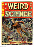 Golden Age (1938-1955):Science Fiction, Weird Science #12 (EC, 1952) Condition: GD/VG. Wally Wood cover.Wood, Jack Kamen, and Joe Orlando art. Moisture stains on f...