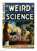 Golden Age (1938-1955):Science Fiction, Weird Science #14 (EC, 1952) Condition: VG-. Wally Wood cover.Wood, Bill Elder, and Joe Orlando art. Extra staples. Overstr...