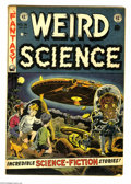 Golden Age (1938-1955):Science Fiction, Weird Science #16 (EC, 1952) Condition: Apparent GD/VG. Art byWally Wood, Al Williamson, Jack Kamen, and Joe Orlando. Insid...
