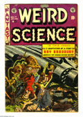 Golden Age (1938-1955):Science Fiction, Weird Science #17 (EC, 1953) Condition: VG-. Used in Parade ofPleasure. Wally Wood cover. Wood returns for an interior ...