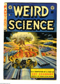 Golden Age (1938-1955):Horror, Weird Science #18 (EC, 1953) Condition: VG-. Atomic bomb cover byWally Wood. Interior artwork by Wood, Jack Kamen, Joe Orla...