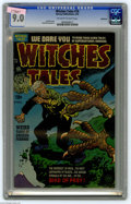 Golden Age (1938-1955):Horror, Witches Tales #18 Bethlehem pedigree (Harvey, 1953) CGC VF/NM 9.0Off-white to white pages. Lee Elias cover. Howard Nostrand...