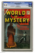 Silver Age (1956-1969):Horror, World of Mystery #5 Bethlehem pedigree (Atlas, 1957) CGC VF/NM 9.0Off-white pages. Joe Orlando, DIck Ayers, Sol Brodsky, an...