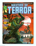 Bronze Age (1970-1979):Horror, Masters of Terror #1 (Curtis, 1975) Condition: VF. Grey Morrow/JimSteranko cover. Frank Brunner, Barry Smith, Jim Starlin, ...