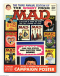 Magazines:Mad, Worst From Mad #3 (EC, 1960) Condition: VG/FN. Kelly Freas, WallyWood, Don Martin, Mort Drucker, and Joe Orlando art. Inclu...