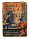 "Platinum Age (1897-1937):Miscellaneous, All-Story Weekly (Munsey, 1915) Condition: FR. This ""issue""contains all three serialized chapters of Edgar Rice Burroughs' ..."
