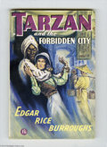 Books:Vintage Paperbacks, Edgar Rice Burroughs - Tarzan and the Forbidden City (Mark GouldenLtd., Undated) Condition: FN. British vintage paperback. ...