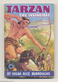 Books:Vintage Paperbacks, Edgar Rice Burroughs - Tarzan The Invincible (Mark Goulden Ltd.,Undated) Condition: FN. British vintage paperback. A nice, ...
