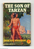 Books:Vintage Paperbacks, Edgar Rice Burroughs - The Son of Tarzan (Pinnacle, Undated)Condition: VG. British vintage paperback. Solid book, nice spin...