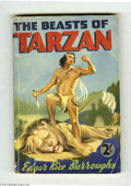 Books:Vintage Paperbacks, Edgar Rice Burroughs - The Beasts of Tarzan (Mark Goulden Ltd.,Undated) Condition: VG. British vintage paperback. General w...