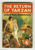 Books:Vintage Paperbacks, Edgar Rice Burroughs - The Return of Tarzan (George Newnes,Undated) Condition: VG. British vintage paperback. Moderate wear...