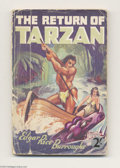 Books:Vintage Paperbacks, Edgar Rice Burroughs - The Return of Tarzan (Mark Goulden Ltd.,Undated) Condition: GD. British vintage paperback. The cover...