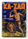 Platinum Age (1897-1937):Miscellaneous, Ka-Zar #1 (Red Circle, 1936) Condition: VG. First appearance of thejungle savage who would become a mainstay of the Marvel ...