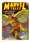 "Golden Age (1938-1955):Science Fiction, Marvel Tales Dec. 1939 (#6) (Red Circle, 1939) Condition: GD+.""Weird Menace"" format pulp. The Ultimate Guide to the Pulps V..."